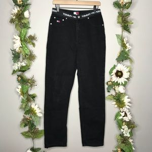 Tommy Hilfiger Spell Out Waist Jeans F18